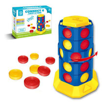 New Connect 4 Twist and Turn Action Game  fun & easy Winning Moves free shipping