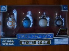 Star Wars The Last Jedi Disney Park exclusive rare Droid Factory Lot de 4 DROIDES