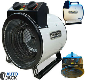 Autojack 3KW Electrical Fan Space Heater for Trade Workshop Garage & Office 230v