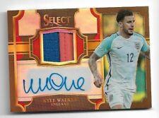 2017-18 Panini Select Soccer Jersey Auto Card :Kyle Walker #21/49