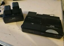 JVC Digital HD Video Player/Recorder CU-VH13 Batteries and battery charger
