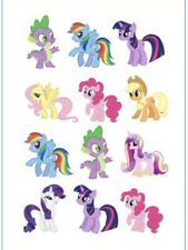 1x My Little Pony Kid TATTOO Sheet. Party Supplies Lolly Loot BAG Cake Toy Game