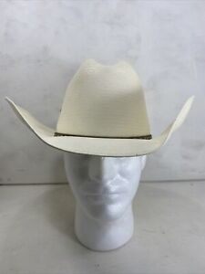 Resistol Western Hat Cowboy Long Oval George Straight Self Conforming 7 1/8 -USA
