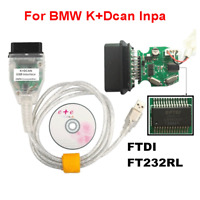 INPA K+DCAN USB Interface OBD2 OBDII 16 Pin Car Diagnostic Tool Cable For BMW