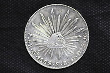 Mexico - Republic 1882 Go SB 8 Reales Silver Coin ( Weight : 26.88 g ) C87
