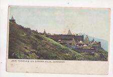 Jain Temple On Girnar Hills Junagadh India Vintage U/B Postcard 330b