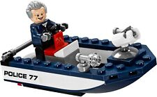 Captain Stacy + Speedboat only Lego 76059 Marvel Super Heroes Spider-Man New