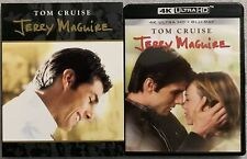 JERRY MAGUIRE 4K ULTRA HD BLU RAY 2 DISC SET + SLIPCOVER SLEEVE FREE SHIPPING