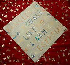 BANGLES - Walk like an Egyptian * KULT 1985 * PREIS HIT SINGLE * TOP :)))