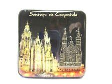 Santiago de Compostella Foto Magnet Night Epoxid Kathedrale Souvenir Spanien