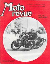 MOTO REVUE . N° 1600 . 14 juillet 1962 . GP de Hollande .