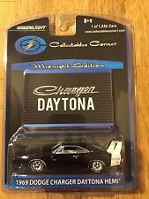 Greenlight 1969 Dodge Charger Daytona Hemi Black 1 of 1536