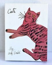 8 Andy Warhol Sam Cat Notecards Pink Orange Red Yellow With Envelopes And Box