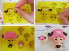 Tony Tony Chopper Fondant Chocolate Clay Silicone One Piece Anime Mold Molder