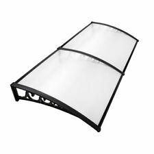 Instahut AWN-PC6-1X2 1x2m DIY Window Door Awning Shade - Transparent