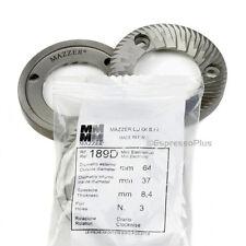 Mazzer Mini E Electronic Espresso Grinder OEM Replacement Burrs - 189D