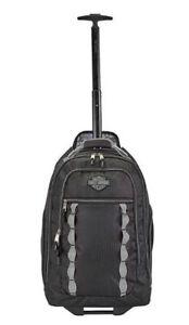 Harley-Davidson Bar & Shield Light-Weight Wheeling Backpack 99826-BLACK
