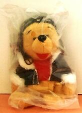 Sealed Nwmt Disney Pilot Pooh from Winnie the Pooh & Friends Bean Bag w.tag 8""