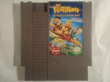 Rare Nintendo Nes The Flintstones: The Surprise at Dinosaur Peak 100% Authentic!