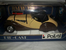 Polistil TG6 BMW 328 Brown/Cream 1/18 Mint & Boxed