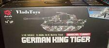 Heng Long 1/16 R/C King Tiger Henschel Turret Upgrade w/Metal Gear & Tracks USA