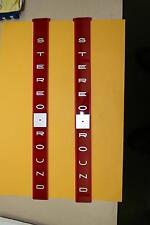 AMI Continental 2 juke box Stereo-Round title tray inserts BRAND NEW! RARE!