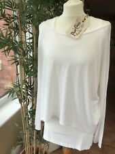 A Postcard From Brighton Karma Top Iced White BNWT
