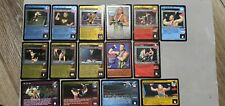 WWE Raw Deal RVD MR PAY PER VIEW 15 CARD SET 3 ULTRA RARES