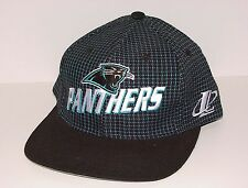 Vintage 90s Carolina PANTHERS Logo Athletic Snapback HAT NWOT NEW Old Stk acd898745