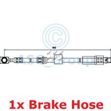 APEC BRAKING 445mm Scheibe Bremssattel flexibel GUMMISCHLAUCH hos3709