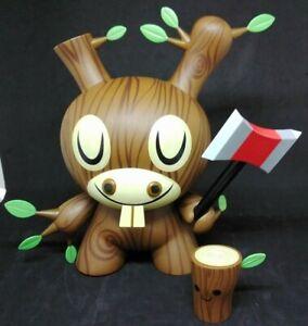 Kidrobot Dunny Wood Donkey Amada Visell