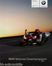BMW Prospekt 2006 Motorrad HP2 F650GS K1200GT R1150R R 850R R1200RT F800S moto