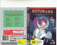 Futurama-1999/13-TV Series USA-Season Three-[4 Disc Set]-DVD