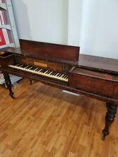 More details for antique square piano circa 1790's john broadwood & son london rare ivory keys