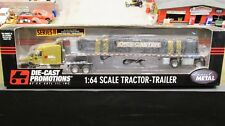 DCP #30170 DIECASTER INTERNAL MAIL ORDER PROMO SEMI TRUCK FLATBED TRAILER 1:64/