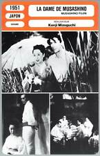 LA DAME DE MUSASHINO - Kenji Mizoguchi(Fiche Cinéma)1951 - The Lady of Musashino
