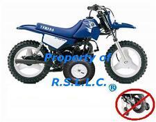 1 SET YAMAHA PW50 MOTORCYCLE TRAINING WHEELS PW 50 PEE WEE PEEWEE50!!