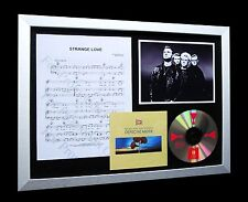 DEPECHE MODE Strange Love LIMITED Nod CD FRAMED DISPLAY