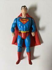 Vintage 1984 Kenner DC Super Powers Superman Original Cape Action Figure