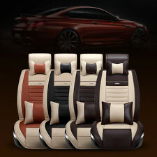 5-Seats Car Interior Seat Cover Chair Cushion PU Leather Pad VST For Toyota RAV4
