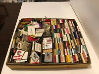 Lot Of 300+ Vintage Matchbooks - assorted years