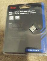 Rosewill RNX-Mini N1 Wi-Fi N150 USB Nano Adapter, Wireless 11n (150 Mbps) New
