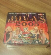 2005 wwf divas box fleer sealed wwe diva trading cards wrestling