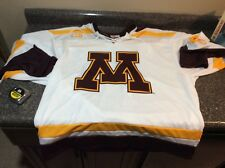 MINNESOTA GOPHERS K1 Hockey Jersey XL NCAA New with Tags Sun Country Airlines #1
