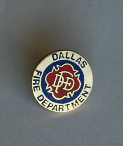 Feuerwehr Pin Anstecker Fire Department Dallas Texas USA Sammlerstück