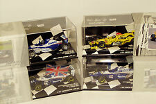 1/43 x4   Damon Hill Limited Edition Set  Williams Renault/Jordan Honda/Arrows