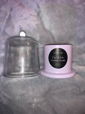 Purity Lab Richly Scented Candle -  Fig Melon - 4oz Glass jar with Cloche