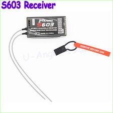 2.4GHz S603 Digital Spread Modulation 6CH S603 Receiver For DX6i JR DX7 JR RC
