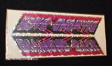 Vintage Original DIAMONDBACK Sticker Decal BMX Bike Diamond Back RARE Prism