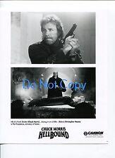 Chuck Norris Christopher Neame Hellbound Original Press Still Glossy Movie Photo